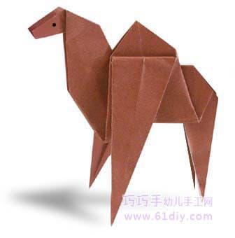 骆驼折纸图解教程