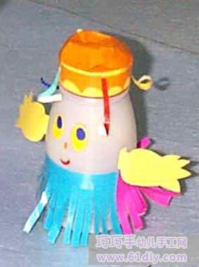 可爱的瓶子娃娃