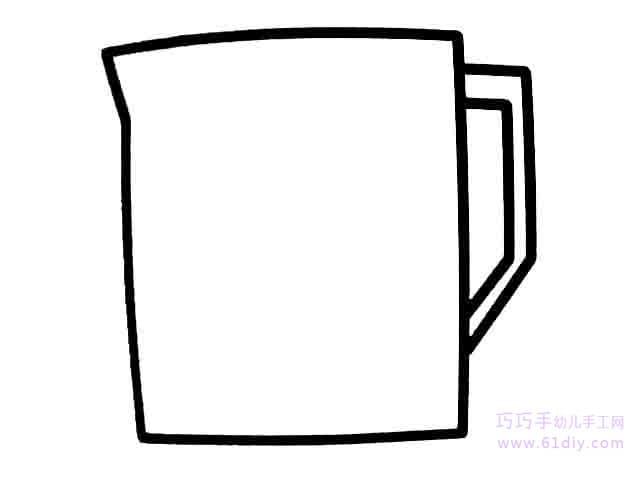 杯子图形设计手绘