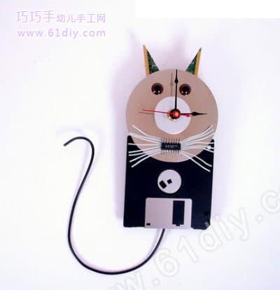 2011-08-12   分类:光盘手工   阅读: 次 动物手工光盘手工猫