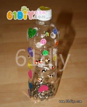 瓶子制作幼儿园打击乐器