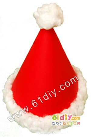 圣诞帽手工制作方法