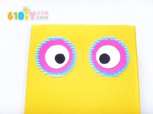 纸盒手工制作猫头鹰_巧巧手幼儿手工网