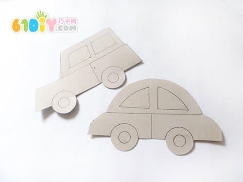 搓纸手工——小汽车