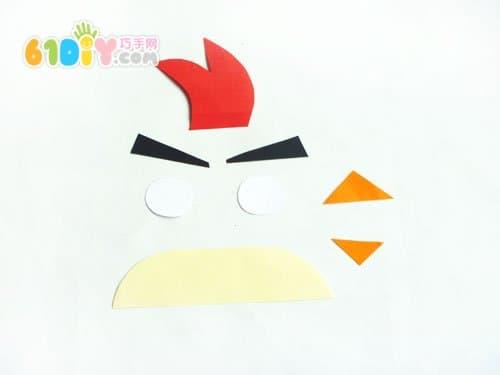 纸盒手工制作愤怒的小鸟储蓄罐