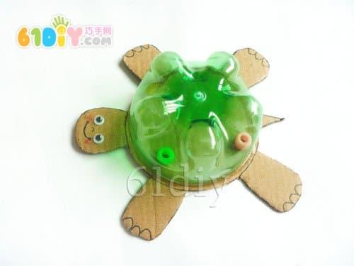 饮料瓶手工制作小乌龟