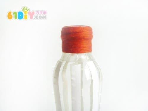 饮料瓶子手工制作花瓶