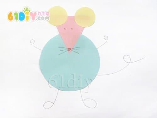 你好,老鼠贴上的东西是不是老鼠