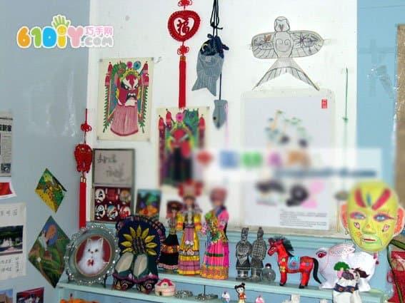 幼儿园中国风主题墙