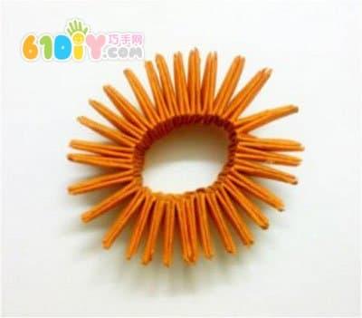 立体菠萝的折法图解法