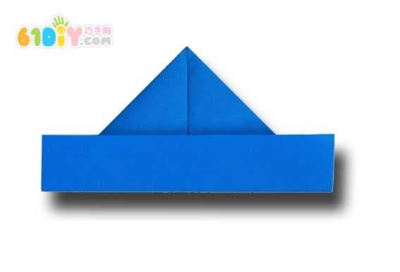 最简单的帽子折纸_巧巧手幼儿手工网