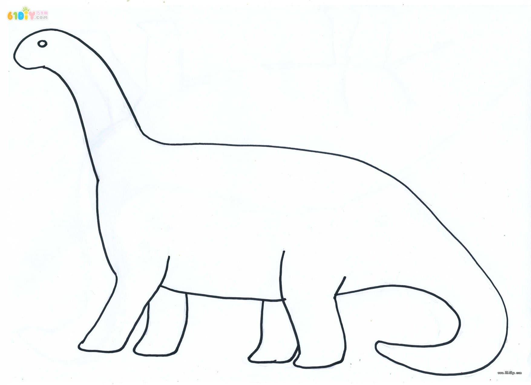 恐龙手工制作