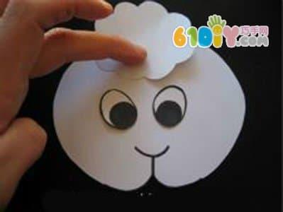 动物手偶diy 纸袋羊手工制作