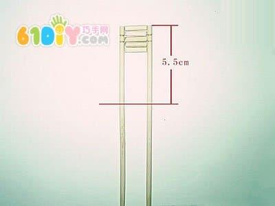 筷子变废为宝制作风车