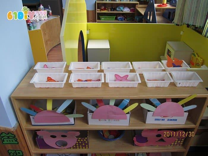 幼儿园益智区图片