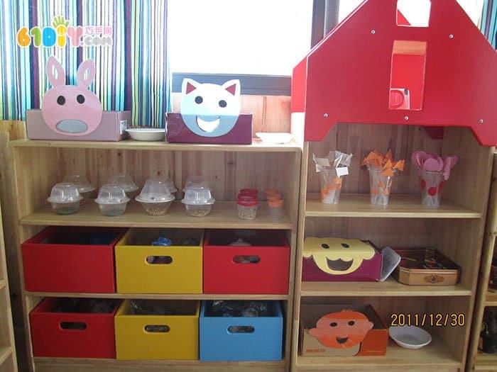 幼儿园手工制作迷你小家具