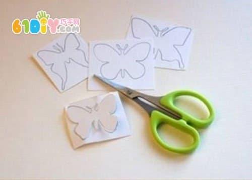 儿童手工制作漂亮的蝴蝶灯笼_巧巧手幼儿手工网