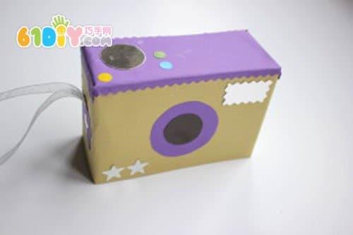 怎样制作一个玩具照相机_巧巧手幼儿手工网