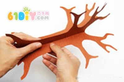 植树节手工 立体树的制作方法