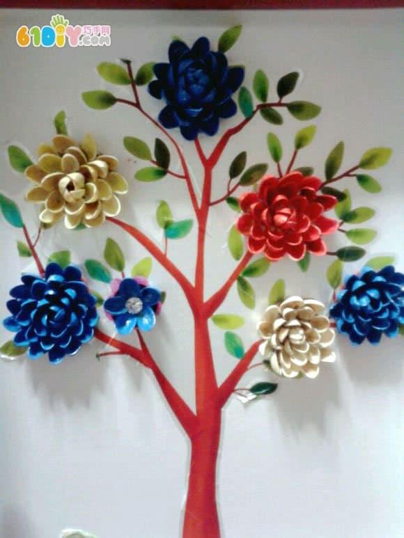 开心果壳树贴画