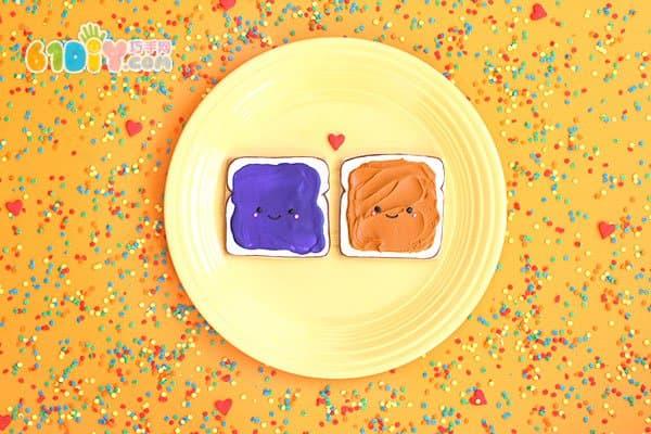 趣味早餐 可爱的笑脸