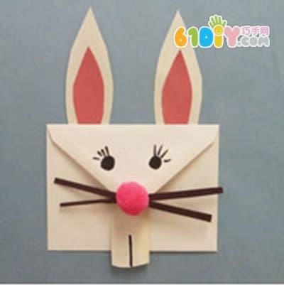 兔子手工制作过程_巧巧手幼儿手工网
