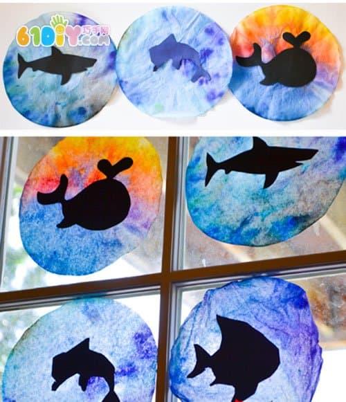 海洋动物的手工
