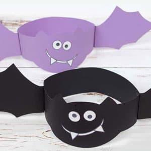 万圣节蝙蝠头套手工制作